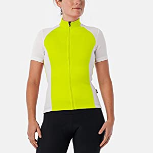 Giro Chrono Sport Jersey - Short Sleeve - Women's Highlight Yellow, M