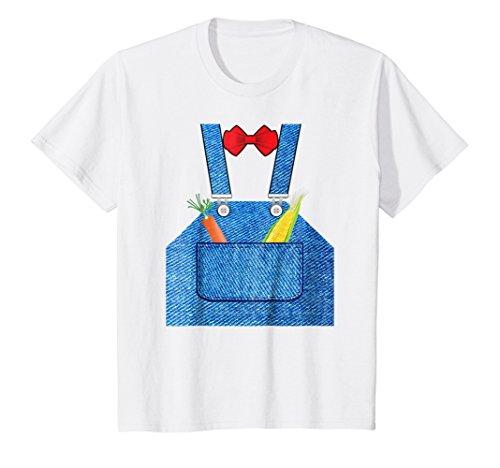 Kids Farmer Halloween Costume Shirt Fun For Trick