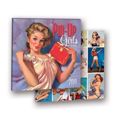 2019 Pin-Up Girls by Gil Elvgren Album Cover Edition WALL -