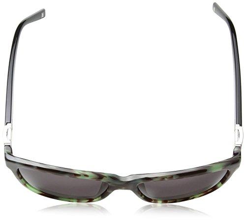 Frame Brown Lens amp; Shiny Ses345t Wayfarer Lunette Smoke De Femme Escada Soleil Green Havana qBPOzAAw