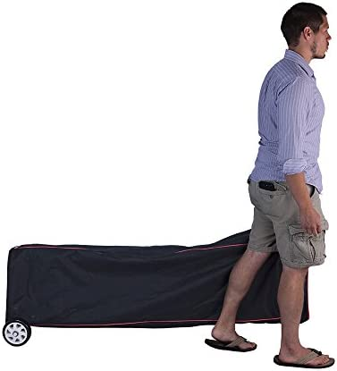 Vispronet – Universal 10×15 Canopy Bag with Wheels – Easy Pop Up Bag, Heavy Duty Wheels, Interior Storage Pockets and Straps – Design Allows for Easy Packing and Unpacking, Easy Transportation