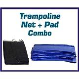 Amazon Com Upper Bounce 10 Ft Trampoline Amp Enclosure