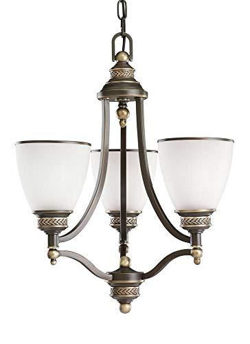 Sea Gull Lighting 31349EN3-708 Three Light Chandelier Estate Bronze