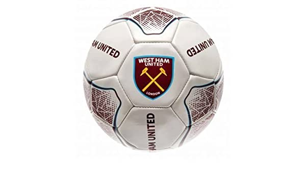 West Ham United Football – Balón de fútbol americano (Tamaño 5 ...