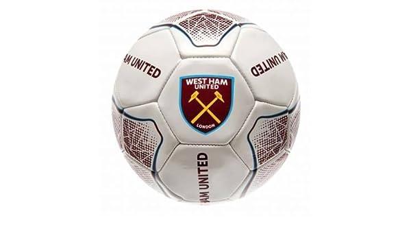 West Ham United Football - Balón de fútbol americano (Tamaño 5 ...