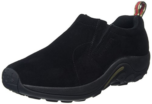 Merrell Men's Jungle Moc Slip-On Shoe,Midnight,10 M US (Best Boots For Standing On Concrete All Day)
