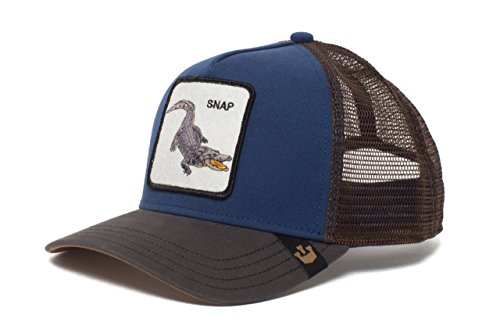 Goorin Bros. Animal Farm 'Snap at Ya' Alligator Snapback Trucker Hat