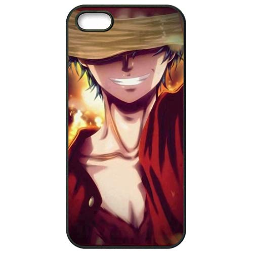 Anime One Piece Portgas D. Ace Monkey Luffy for Apple iPhone Xs Max Case Accessories Phone Skin Case (Ace Monkeys)