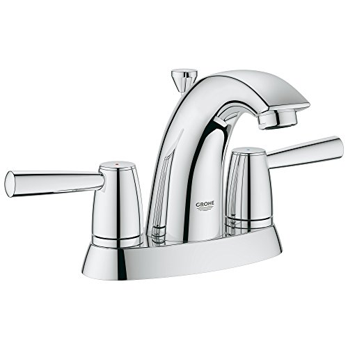 Arden 4 In. Centerset 2-Handle Bathroom - Polish Brass Grohe