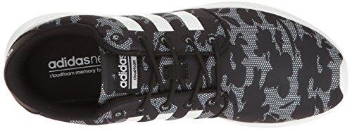 Scarpa Da Running Adidas Original Donna Qt Racer Nera / Bianca / Nera