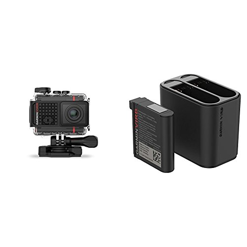 Garmin VIRB Ultra 30 Action Camera and VIRB Ultra Dual Battery Charger Bundle