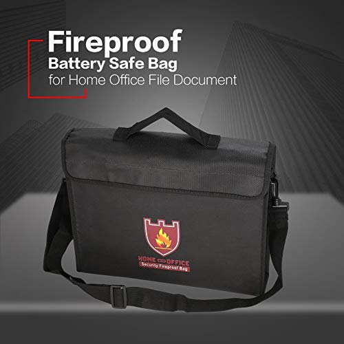 Wikiwand Battery Safe Bag Explosion-Proof Storage Fireproof Home Office File Pouch by Wikiwand (Image #3)