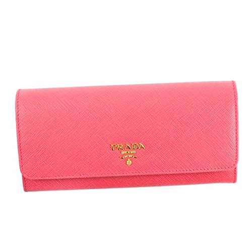 4f12bb753bf9 Amazon | [PRADA] プラダ 財布 長財布 ロングウォレット レディース メンズ 4種類 [並行輸入品] (ピンク) | PRADA(プラダ)  | 財布