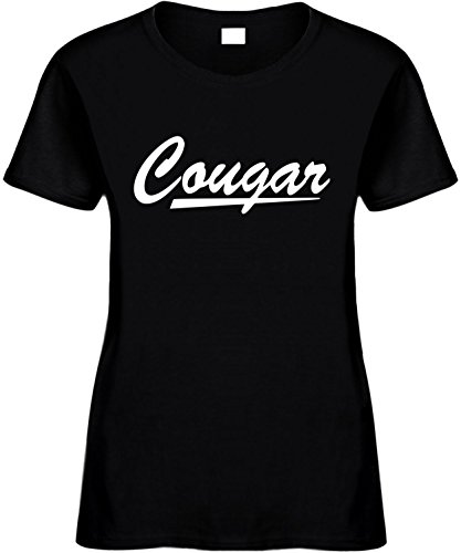 Women's Size 3X Funny T-Shirt (COUGAR) Ladies Shirt