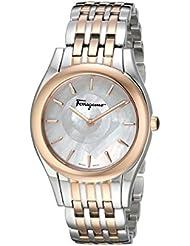 Salvatore Ferragamo Womens FG4080015 Lirica Two-Tone Watch