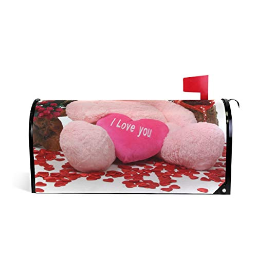 (Valentine's Day with Ideas Mailbox Covers Magnetic Mail Letter Post Box Cover Standard Size -)