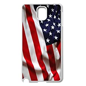 American Flag, Bold Vivid Color Design Snap-on Cover Hard Carrying Case For Samsung Galaxy NOTE3 Case Cover AKG276580