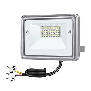 Gosun 10W Faretto Proiettore LED Pari ad alogena da 100W, Impermeabile IP66, 220V 950LM Bianco Caldo 3000K Lampada… 8 spesavip