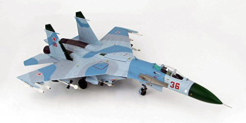SU-27 Flanker Rusian Air Force Blue Camouflage 1/72 Scale Model