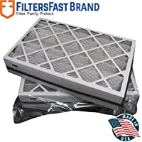 FiltersFast Compatible Replacement for Trane Perfect Fit BAYFTFR17M MERV 8 17.5 x 27 x 5 (Actual size: 17.2 x 26.2 x 5) 2-Pack