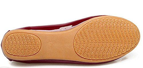 Red Ballet Size Opsun Women's Uk Flats 9 zOxAwWfHqU