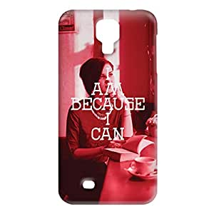Loud Universe Samsung Galaxy S4 I Am Because I Can Print 3D Wrap Around Case - Red/White
