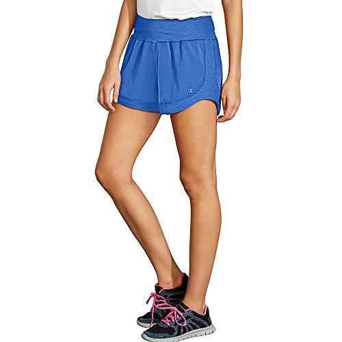 Champion Women's Sport Short 6, Steel Blue, X-Large