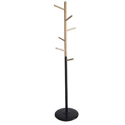 Amazon.com: Coat RACK - Perchero de madera maciza con forma ...
