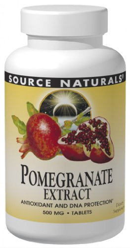 Source Naturals Pomegranate Extract 500mg, 240 Tablets