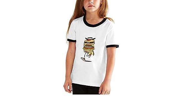 6eeea6b4c31415 Amazon.com: Youth Graphic Tshirts, Boys Girls T-Shirt Funny Hamburger Print  Generic T Shirt, Teens Short Sleeve Shirts Tops Sport Tees Black L: Clothing