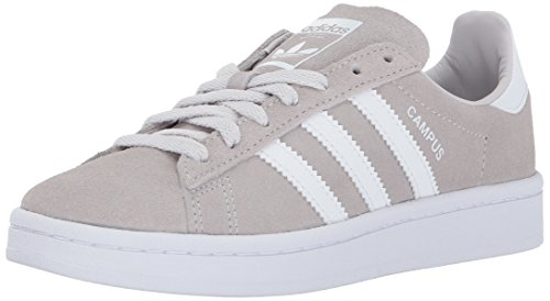 best service 52500 47245 adidas Originals Boys  Campus J, Grey One White White, 3.5 Medium