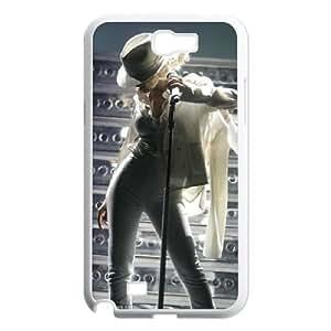 LGLLP Christina Aguilera Phone case For Samsung Galaxy Note 2 N7100 [Pattern-5]