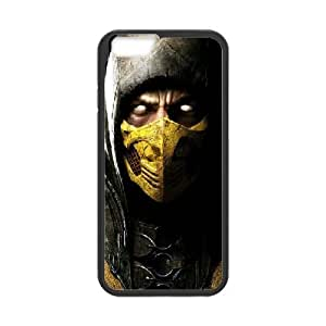 IPhone 6 Plus Cases Scorpion in Mortal Kombat X, Sexyass, {Black}