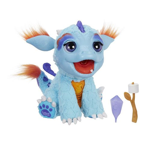 HOT Interactive Toy 2017 - FurReal Friends Torch Doll - My Blazin' Dragon - Responds to touch with 50 Plus sound and motion combinations! This fun furry Pal will make a Great Holiday Gift! (Furry Pal)