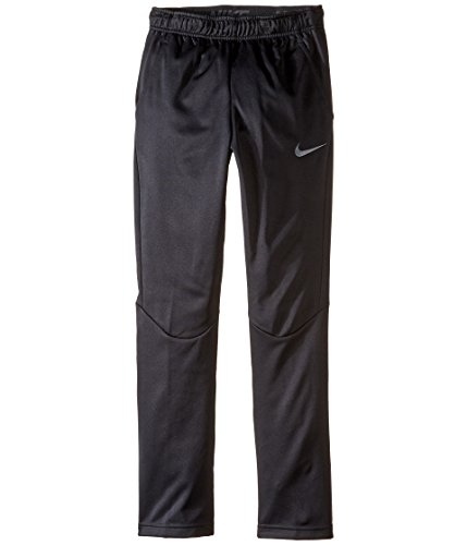Nike Youth Boys Therma Fleece Lined Athletic Pants, Black, Big Kids XL
