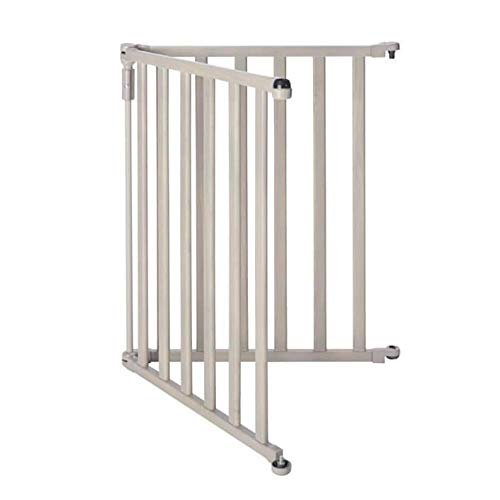 Toddleroo by North States 2 Panel Extension for 3 in 1 Wood Superyard: Adds up to 48″ to the 3 in 1 Wood Superyard for an extra wide baby gate or play yard (48″ width, Light Gray)