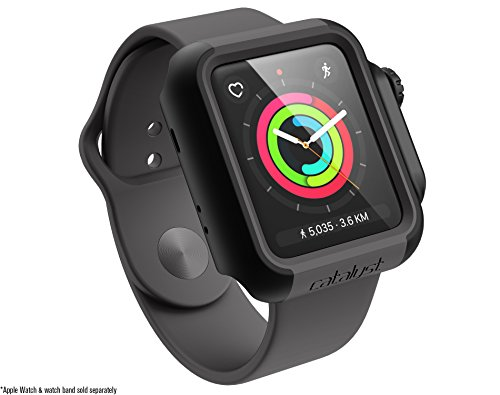 Catalyst for 42mm Apple Watch Series 3 & Series 2 – Drop Proof Shock Proof Impact Protection Apple Watch case [Rugged iWatch Protective case], Stealth Black by Catalyst