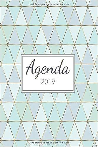 Agenda 2019: Organiza tu día - Agenda semanal 12 meses - 1 ...
