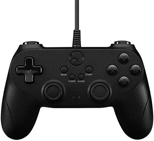 L&WB Controlador Bluetooth con Cable Recargable PC / PS3 / Móvil/Tableta/Android Smart TV Gamepad Joystick (Negro): Amazon.es: Hogar