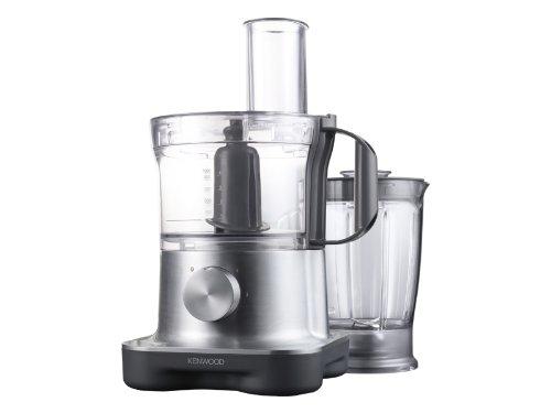 Kenwood FPM 250 Kompakte Küchenmaschine, 2,1 Liter / 750 Watt / Silber