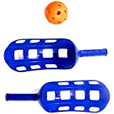 Shot Taker Co. Scoop Ball Game: Classic Kids Outdoor Party Gear for Lawn, Camping, Beach & Summer Activities