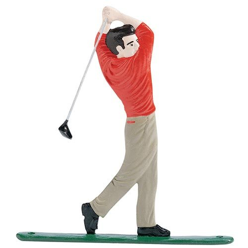 Whitehall Products Golfer Plaque, Multicolored