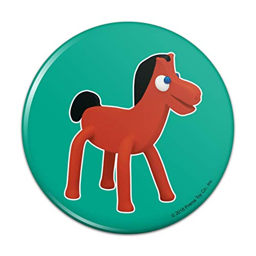 Pokey Gumby's Horse Pony Pal Friend Compact Pocket Purse Hand Cosmetic Makeup Mirror - 3