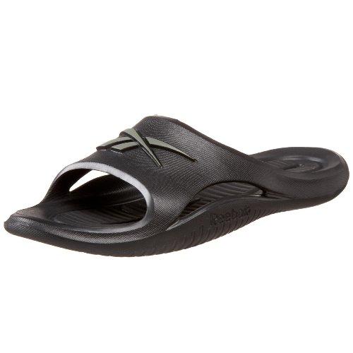 Reebok Men's Kobo V Sandal,Black/Medium Grey,9 M