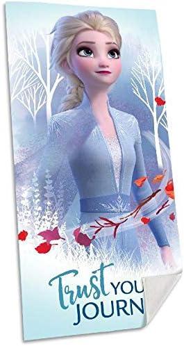 /única Disney Frozen 2 algod/ón Referencia KD Playa lavarse la Cara-Toallas Textiles del hogar Unisex Adulto Multicolor Multicolor
