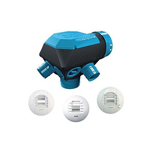 Kit de ventilación mecánica higrorregulable