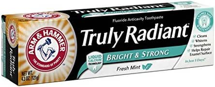 Toothpaste: Arm & Hammer Truly Radiant