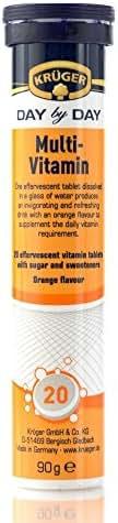 Krueger Multi-Vitamin Effervescent Tablets (Pack of 6)