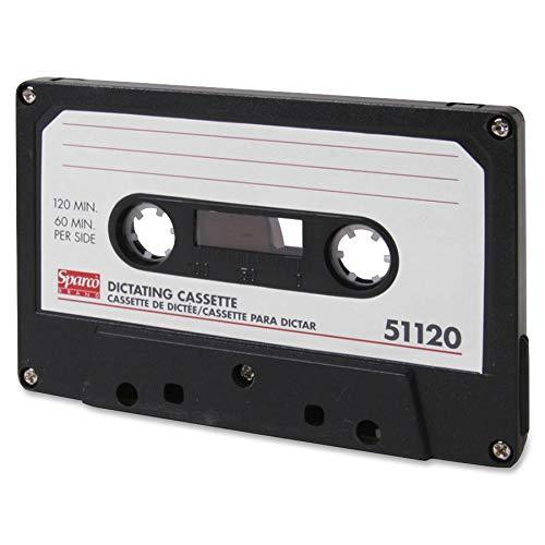 Sparco 51120 Dictation Cassette, Standard, 120 Minute