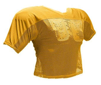 Schutt Sports Youth Practice Football Jersey, Gold, Large/X-Large